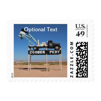 Outback Coober Pedy Customized Souvenir Postage Stamp
