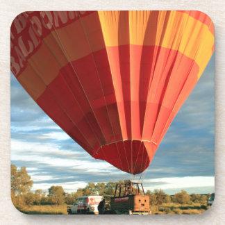 Outback hot air balloon, Australia Drink Coaster