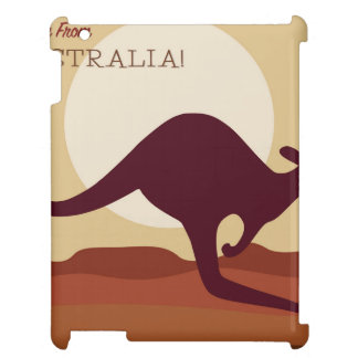 Outback kangaroo case for the iPad 2 3 4