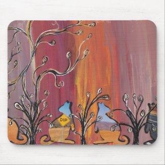 Outback Kangaroos mousepad mousepad