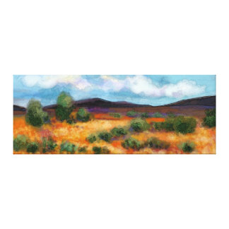 Outback landscape canvas print
