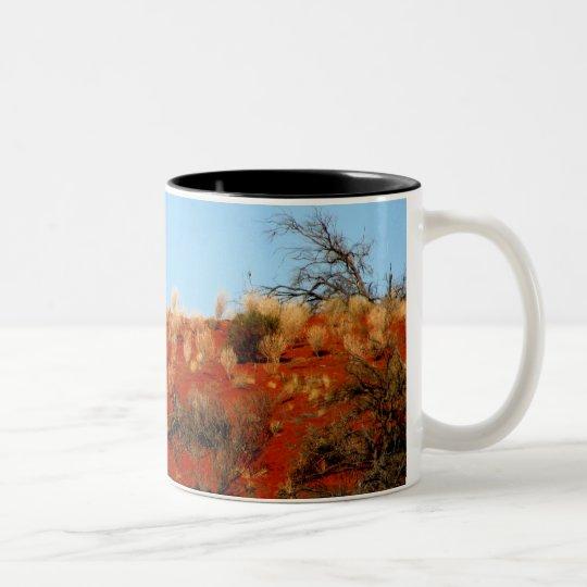 Outback Red Two-Tone Coffee Mug