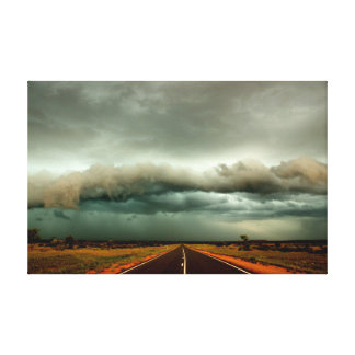 Outback Strom Canvas Print