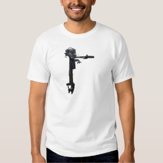 Outboard Boat Engine T Shirt
