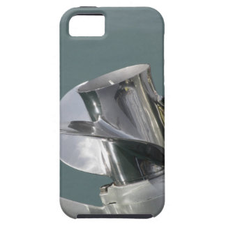 Outboard boat motor tuned up on sea background iPhone SE/5/5s case