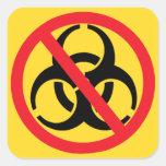 Outbreak Eradication Symbol Stickers