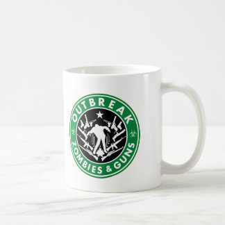 Outbreak, Zombies And Guns Mug