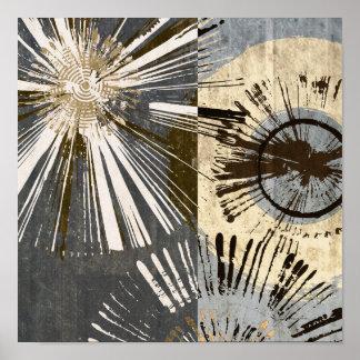 Outburst Tiles I Poster