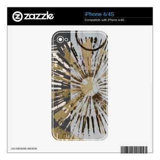 Outburst Tiles III Skin For iPhone 4
