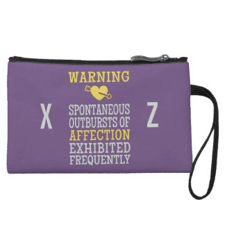 Outbursts of Affection custom accessory bags