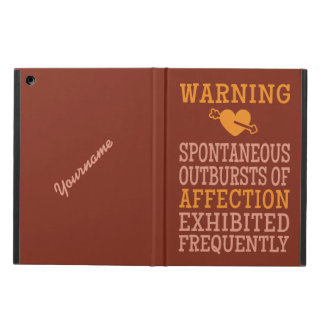 Outbursts of Affection custom cases iPad Air Cases
