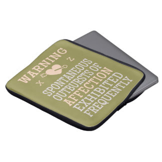 Outbursts of Affection custom laptop sleeves