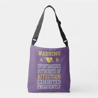 Outbursts of Affection custom monogram bags