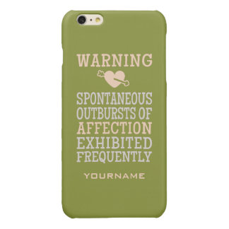 Outbursts of Affection custom monogram cases