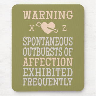 Outbursts of Affection custom mousepad