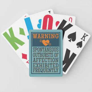 Outbursts of Affection playing cards