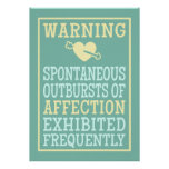 Outbursts of Affection poster