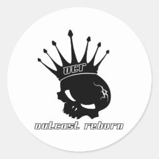 Outcast Reborn Classic Round Sticker