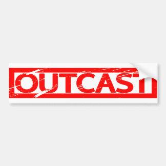 Outcast Stamp Bumper Sticker