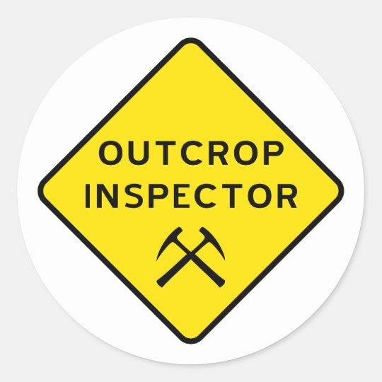 Outcrop Inspector Sticker