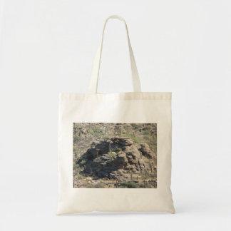Outcropping rocoso en el bolso de Tucson Bolsa Lienzo
