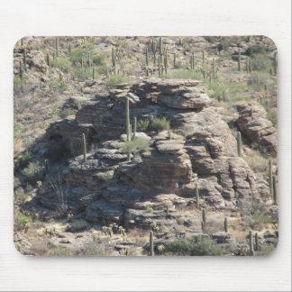 Outcropping rocoso en Tucson Mousepad