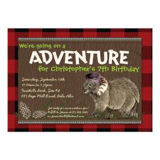 Outdoor Adventure Party Invitation