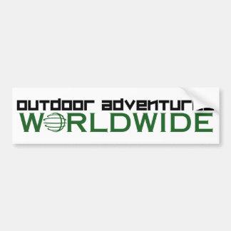 Outdoor Adventures Worldwide Bumper Sticker