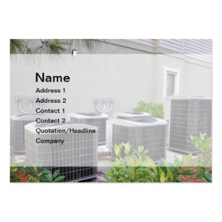outdoor air conditioner units large business cards (Pack of 100)