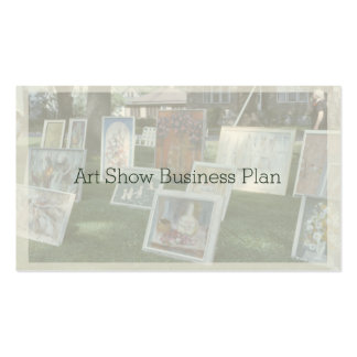 Outdoor Art Show Double-Sided Standard Business Cards (Pack Of 100)