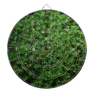 Outdoor Botanical Green Ground Moss Nature Plant Dart Boards