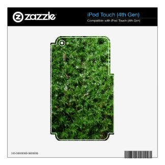 Outdoor Botanical Green Ground Moss Nature Plant iPod Touch 4G Decals