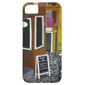 Outdoor cafe iPhone SE/5/5s case