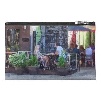 Outdoor Cafe Philadelphia PA Travel Accessory Bag