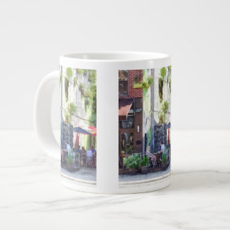 Outdoor Cafe Philadelphia PA Large Coffee Mug