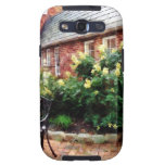 Outdoor Cafe With Hydrangea Galaxy S3 Cases