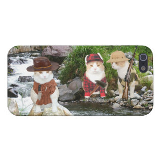 Outdoor Cats iPhone SE/5/5s Case