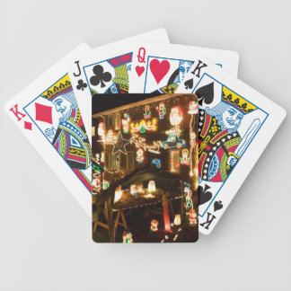 Outdoor Christmas Decorations Bicycle Playing Cards