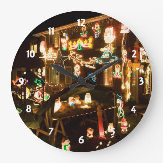 Outdoor Christmas Decorations Large Clock