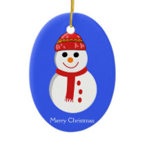 Outdoor Christmas Ornaments With Snowman