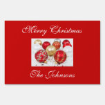 Outdoor Christmas Signs With Decorations
