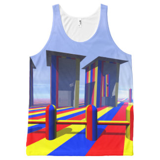 Outdoor Dunnies All-Over-Print Tank Top
