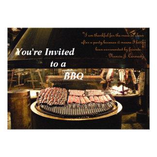 Outdoor Entertainng Custom Invitations
