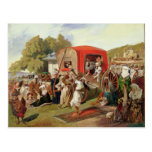 Outdoor Fete in Turkey, c.1830-60 Post Card