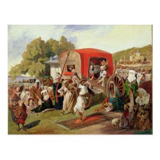 Outdoor Fete in Turkey, c.1830-60 Postcard