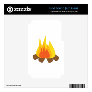 Outdoor Fire iPod Touch 4G Decal
