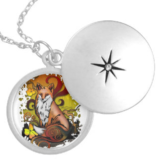 Outdoor Fox Silver Plated Necklace