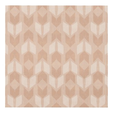 Art Themed Outdoor Geo Step | Coral Arrow Pattern Panel Wall Art