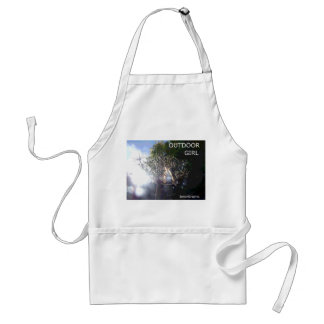OUTDOOR GIRL - FREEDOM ADULT APRON