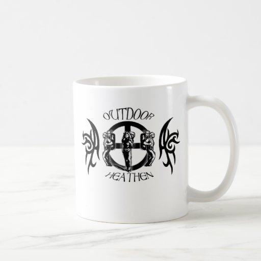 Outdoor Heathen Camping Coffee Mug